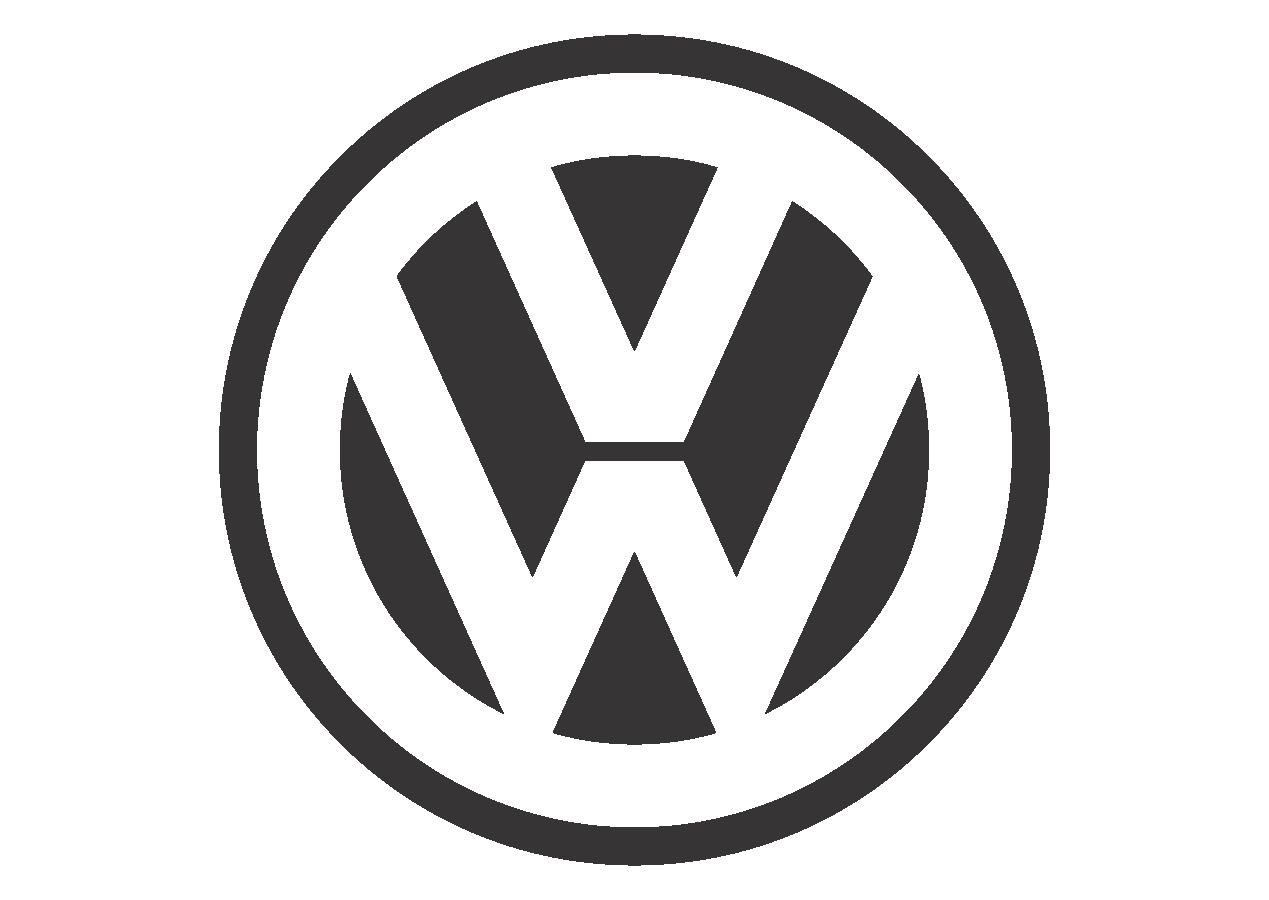 svg Vector emblem black and white. Volkswagen mode logo download