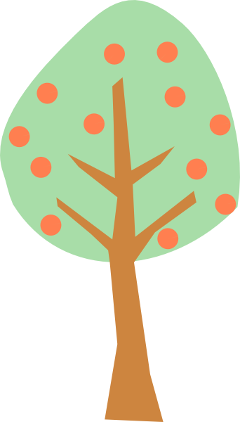 jpg freeuse stock Peach Tree Clip Art at Clker