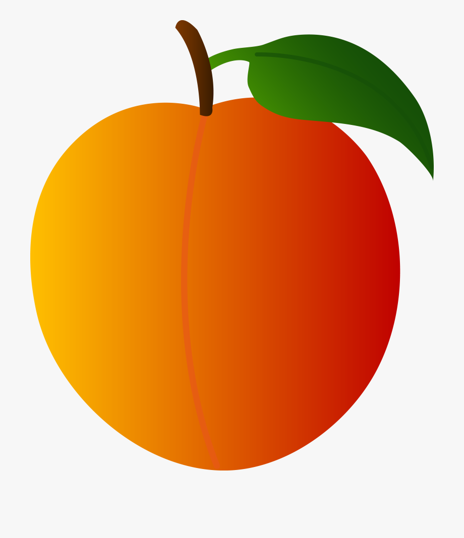 image royalty free library Peaches clipart. Peach clip art free