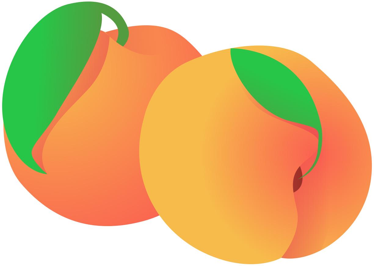 stock Peaches clipart. Free cliparts download clip