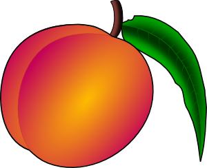 png transparent Coredump Peach Clip Art at Clker