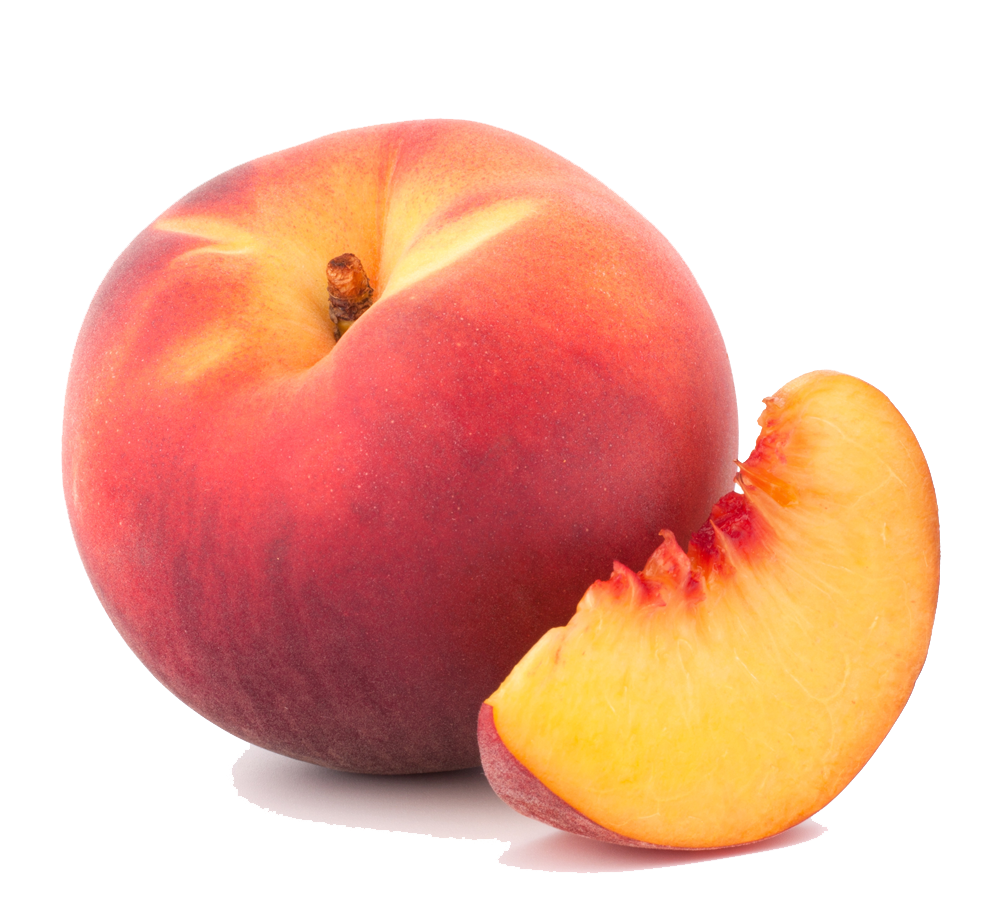clipart black and white stock Peach Png Clipart