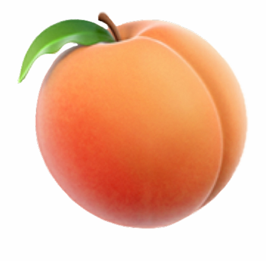 clip art library stock Transparent peach. Emoji background