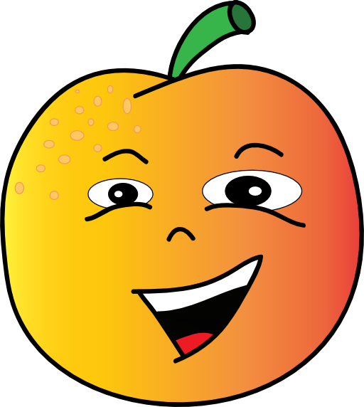jpg transparent stock Peach Clipart