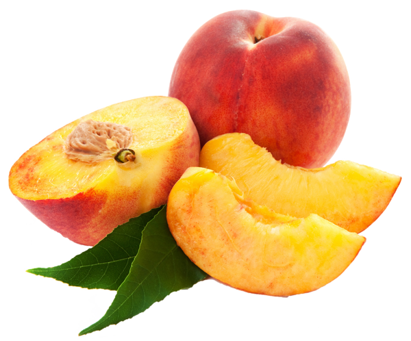 graphic freeuse Large Peaches PNG Clipart