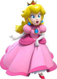 svg freeuse library Princess Peach