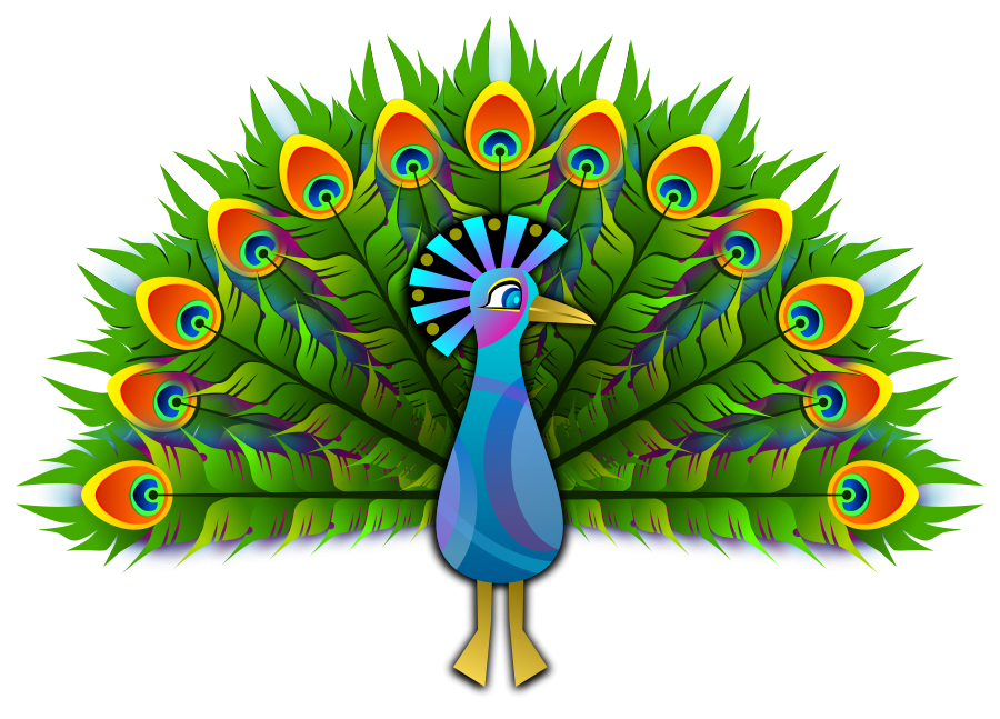 clipart transparent stock Peacock clipart. Free download clip art.