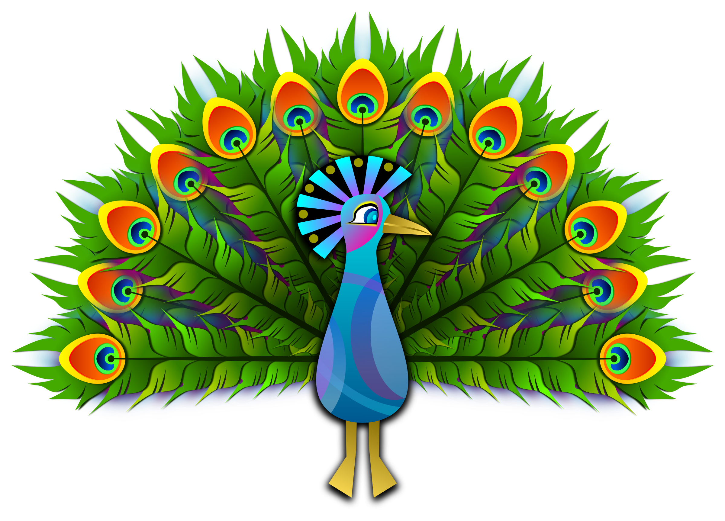 clip freeuse Indian free on dumielauxepices. Peacock clipart.