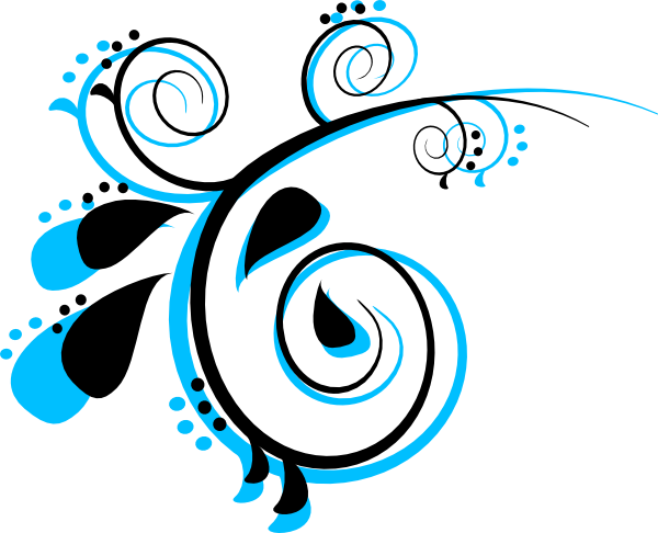 picture black and white Peacock clipart black and white. Scroll clip art at