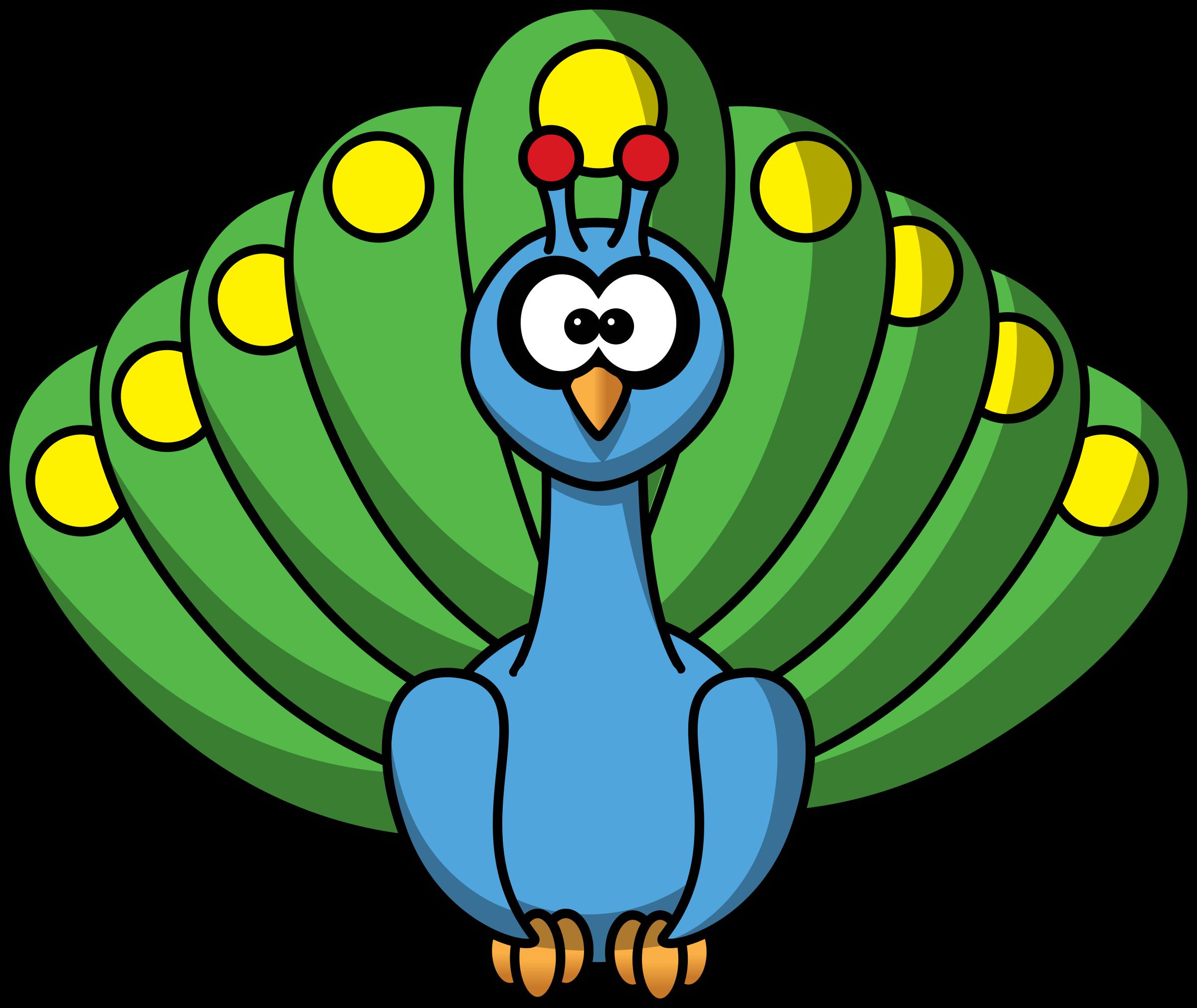 clipart freeuse stock Arcade clipart prizes. Cartoon peacock by studiofibonacci