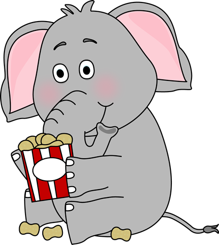 vector black and white download Elephant with clip art. Peanuts clipart.