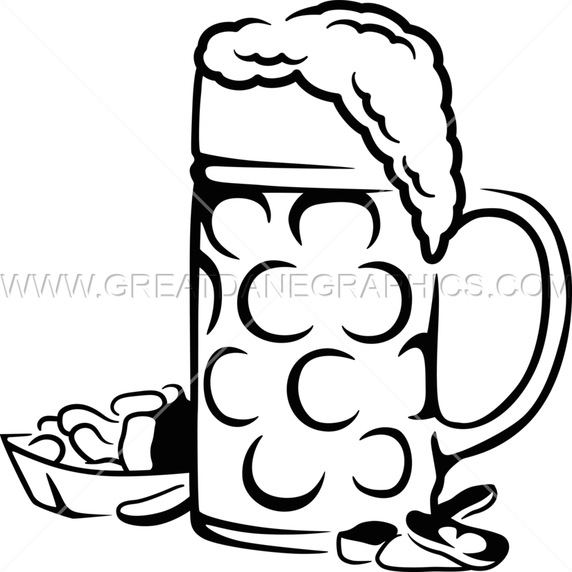 jpg library Peanuts clipart black and white. Beer production ready artwork