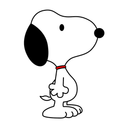 clip art library How to Draw Snoopy from Peanuts