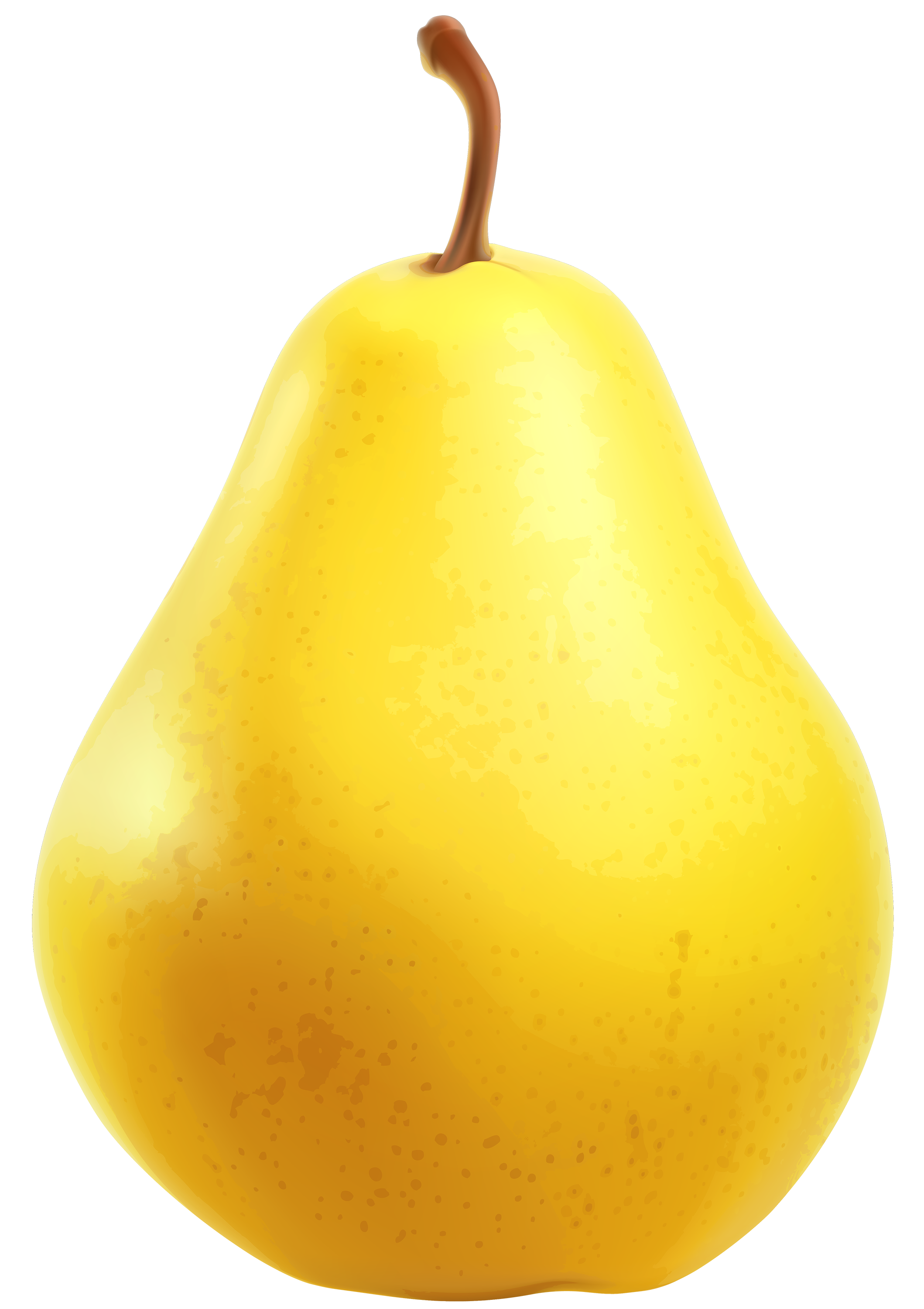 picture black and white download Pear clipart. Yellow png best web