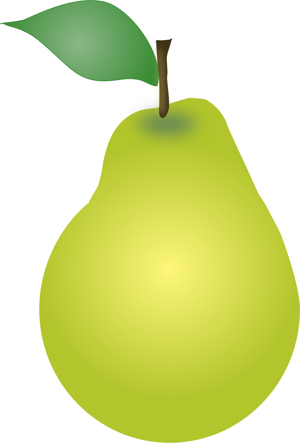 svg royalty free Pear clipart. Svg big image png