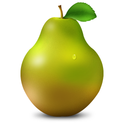 png royalty free download Pear Icon