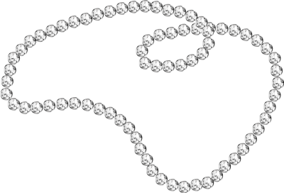 svg download Pearl clipart. Necklace .