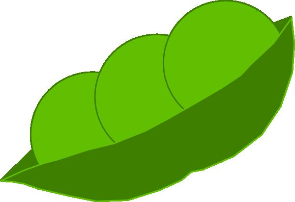 jpg library stock In a pod clip. Peas clipart.