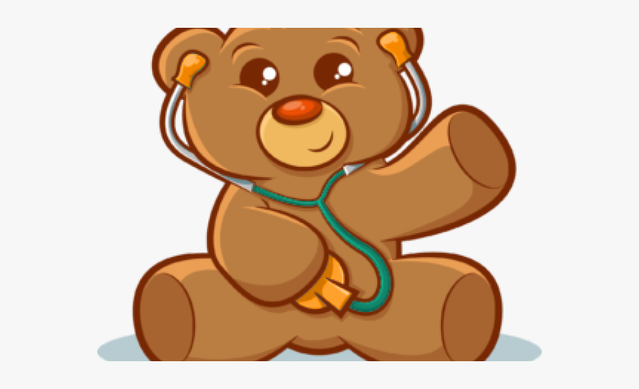 clipart royalty free download Clipart of bear. Nurse pediatrician free