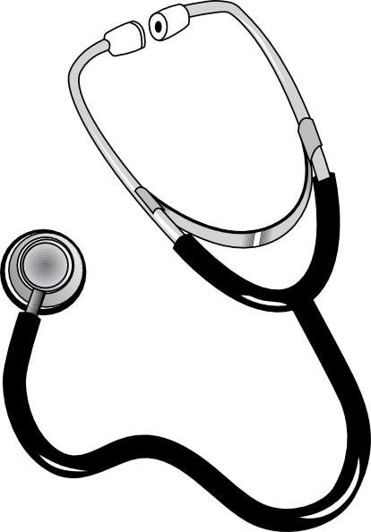 vector stock Stethoscope Clip Art at Clker