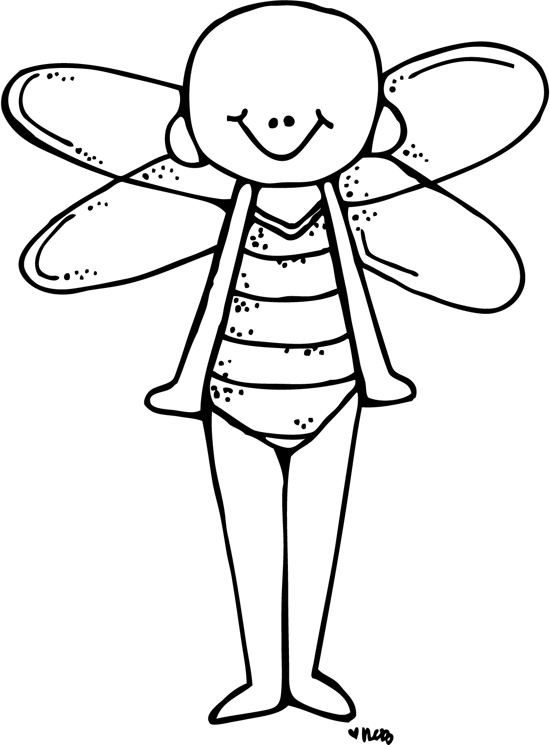 clip black and white download Melonheadz illustrating special introduction. Peeps black and white clipart