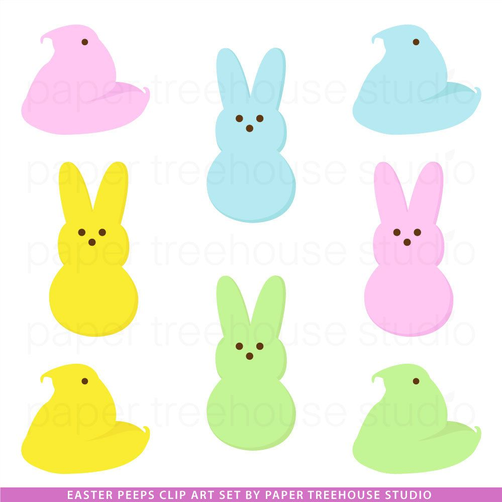 banner royalty free download Peeps clipart. Clip art peep bunny