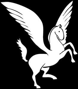 jpg transparent stock Logo vectors free download. Pegasus vector.