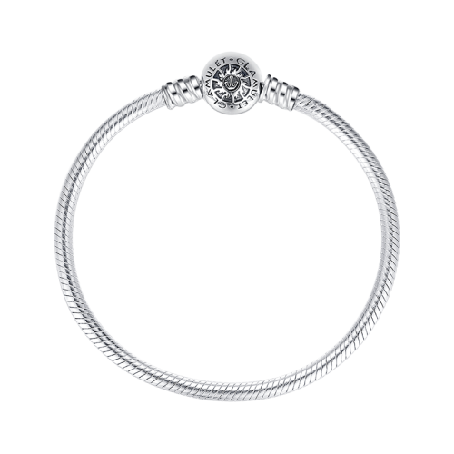 svg royalty free stock Sterling Silver Round Clip Classic Bracelet