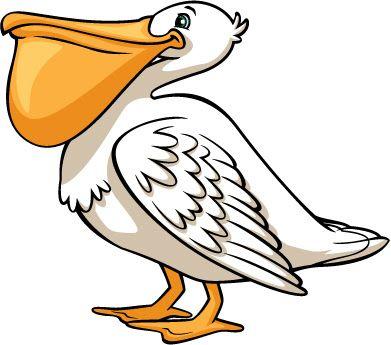 svg library download Pelican clipart. Clip art birds birdhouses