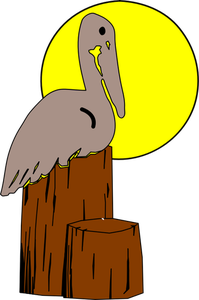 picture freeuse Pelican Silhouette Clip Art at GetDrawings