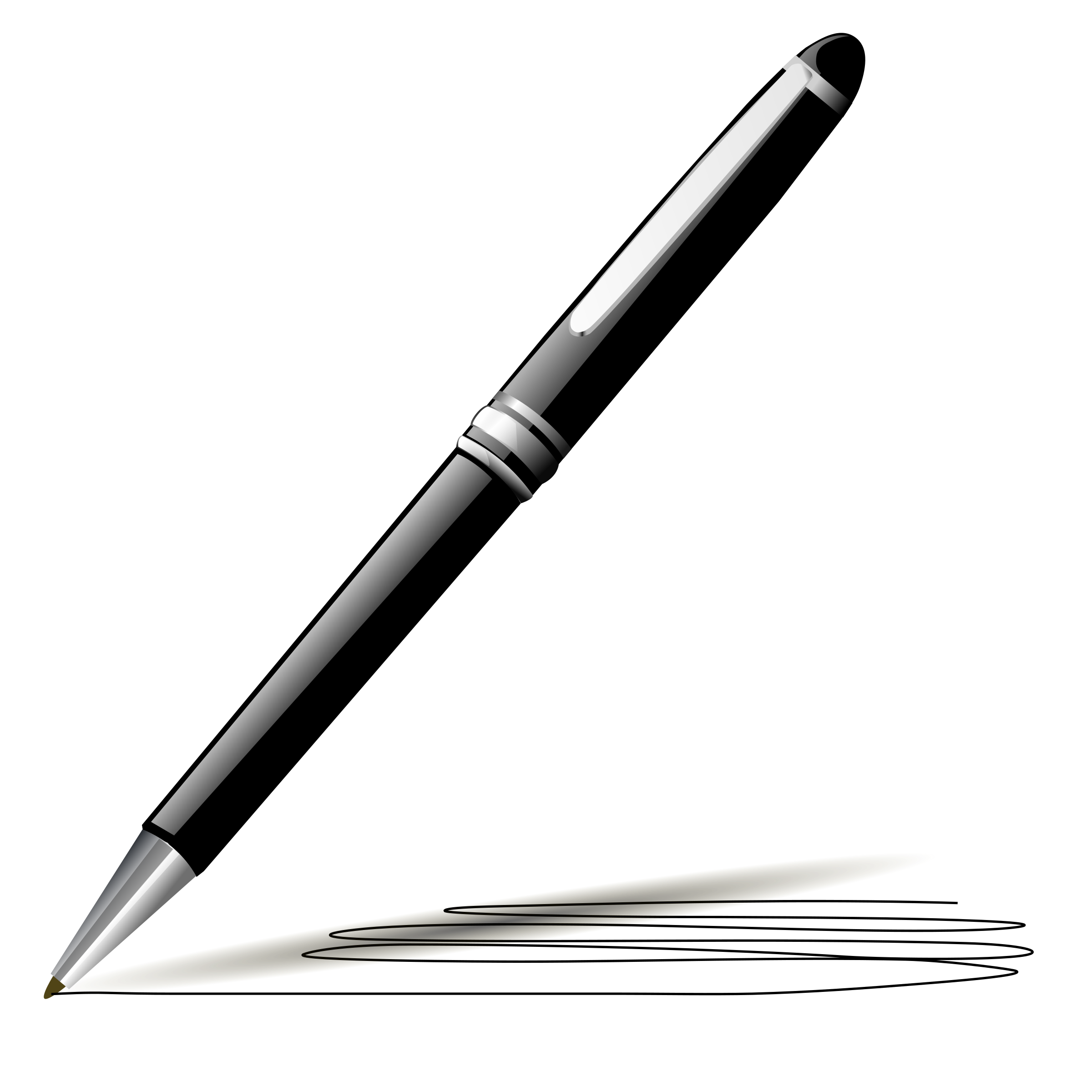 vector Style big image png. Pen clipart.
