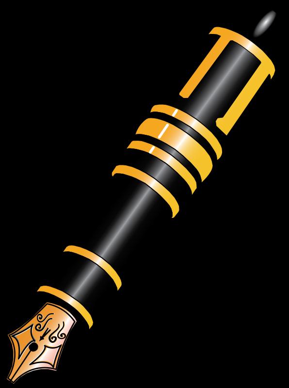 clip art transparent download And notebook paper pencil. Pen clipart.