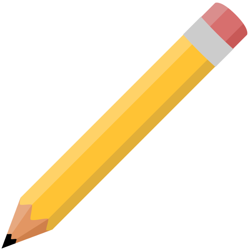 png Print objects flashcards easy. Pen clipart classroom object.