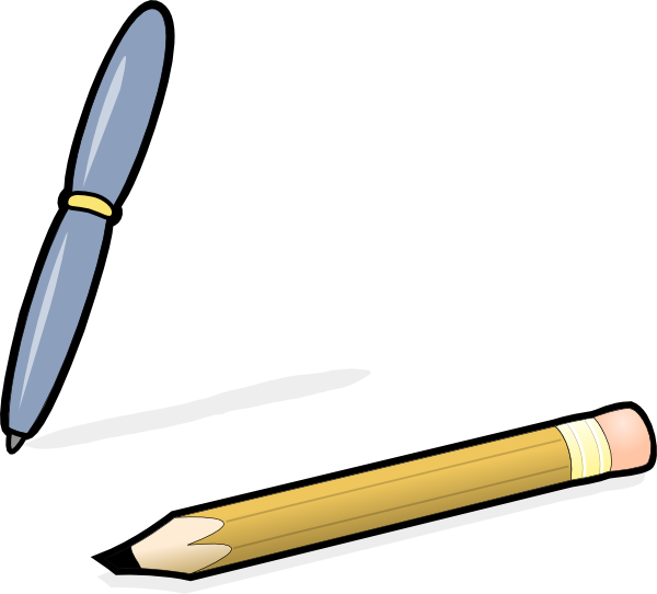 clip library library Pen writing clipart. Pencil clip art at.