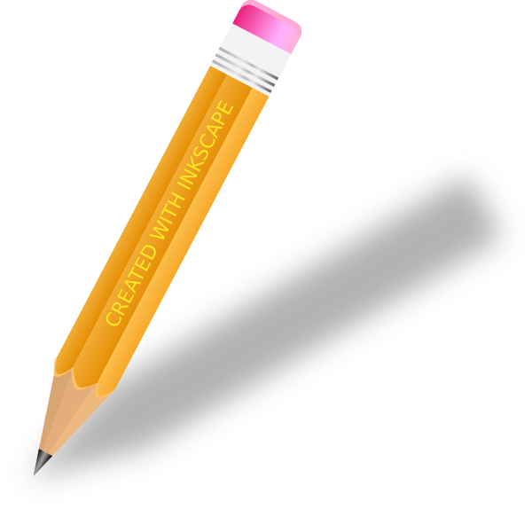 clip art Pencil writing clipart. Clip art at clker