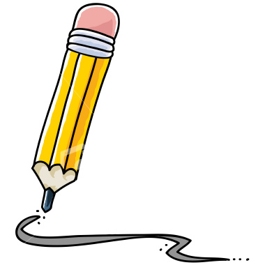 graphic transparent Pencil writing clipart. Clip art free images