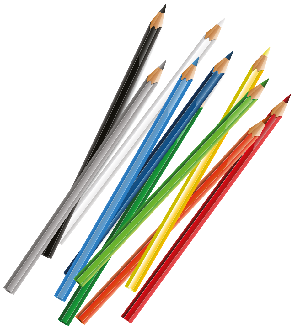 clipart royalty free library Pencils clipart. Transparent png picture gallery.