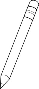 clip transparent Crayon pencil clip art. Pencils clipart black and white.