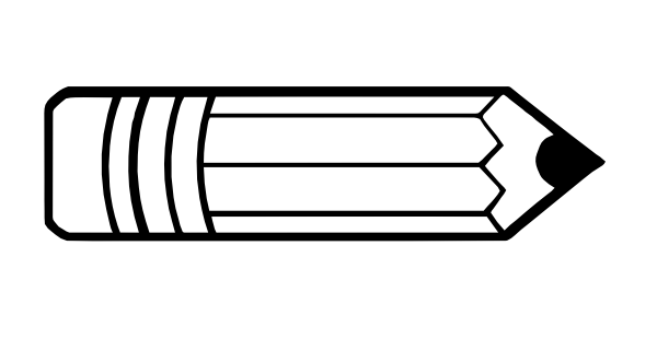 clip Pin on rockin your. Pencils clipart black and white