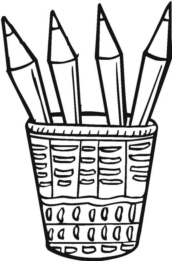 banner transparent stock Pencils clipart black and white. Free pencil cliparts download