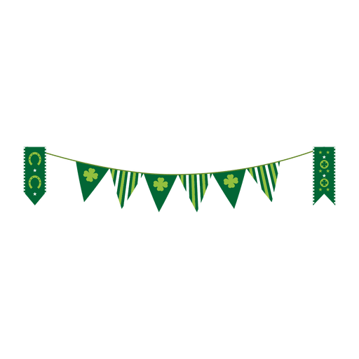 jpg free download Pennant vector. St patrick transparent png