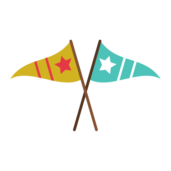 png free stock Decorative Pennants Icon