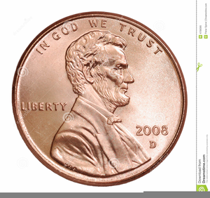 graphic transparent Free images at clker. Pennies clipart.