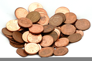 clip free library Pennies clipart. Free images at clker.