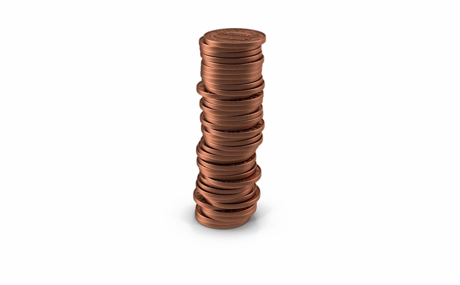 clipart library library Png pic of transparent. Pennies clipart stack penny