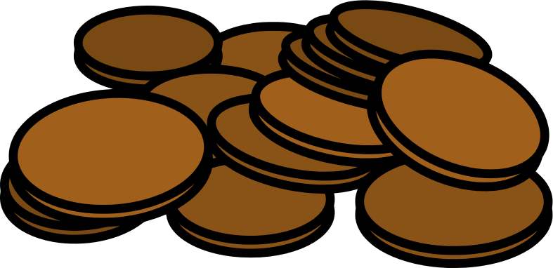 clipart download Medium image png . Pennies clipart