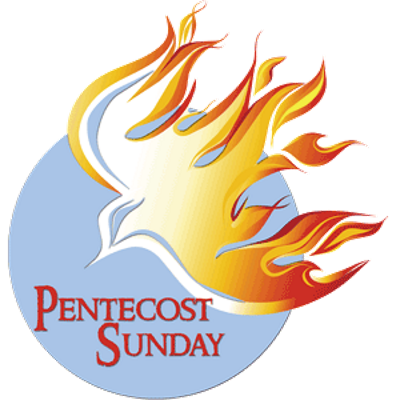 graphic freeuse library pentecost sunday clipart #66554188