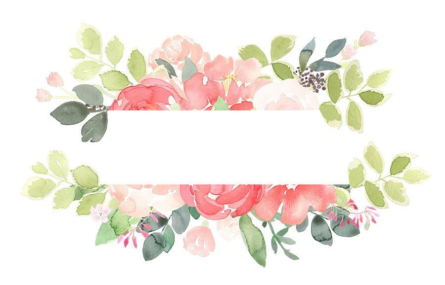 banner free stock Peonies clipart. Peony floral frames coral