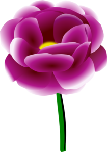banner royalty free library Peony clipart. Clip art at clker.