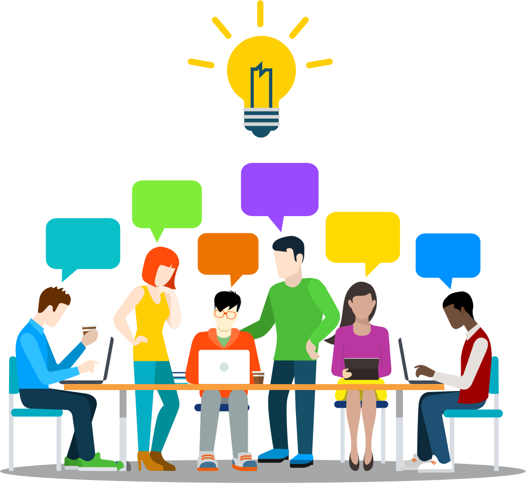 graphic free stock Png free . People working together clipart.